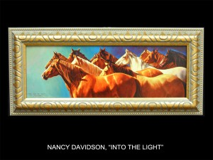 "Nancy Davidson, ""Into the Light"" (Into the Light)"