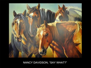 "Nancy Davidson, ""Say What?"" (Say What?)"