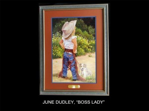 "June Dudley, ""Boss Lady"" (Boss Lady)"