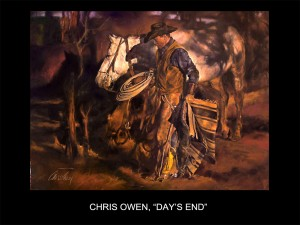 "Chris Owen, ""Day's End"" (Day's End)"