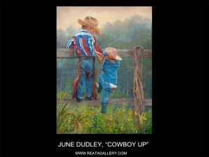 "June Dudley, ""Cowboy Up"" (Cowboy Up)"