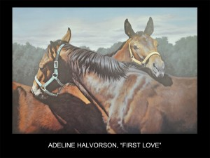 "Adeline Halvorson, ""First Love"""