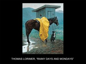 "Thomas Lorimer, ""Rainy Days and Mondays"" (Rainy Days and Mondays)"