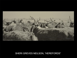 "Sheri Greves-Neilson, ""Herefords"" (Herefords)"
