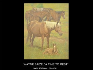 """Wayne Baize, """"A Time to Rest"""" (A Time to Rest)"""