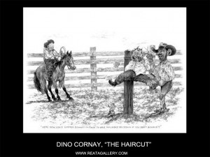 "Dino Cornay, ""The Haircut"" (The Haircut)"