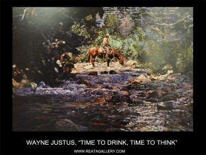 """Wayne Justus, """"Time to Drink, Time to Think"""" (Time to Drink, Time to Think)"""