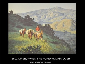 "Bill Owen, ""When the Honeymoon's Over"" (When the Honeymoon's Over)"