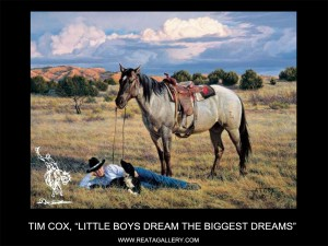 "Tim Cox, ""Little Boys Dream the Biggest Dreams"""