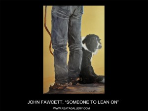 "John Fawcett, ""Someone to Lean On"" (Someone to Lean On)"