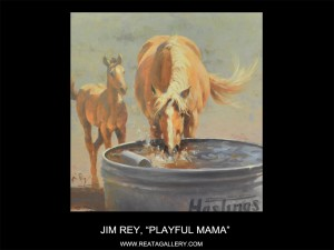 "Jim Rey, ""Playful Mama"""