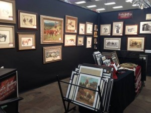 Old West Show booth (Old West Show)