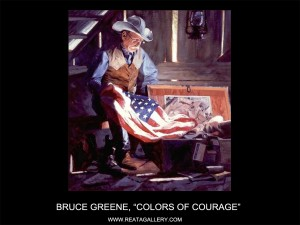"""Bruce Greene, """"Colors of Courage"""" (Colors of Courage)"""
