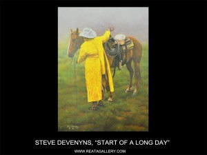 "Steve Devenyns, ""Start of a Long Day"""