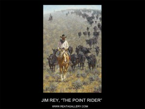 "Jim Rey, ""The Point Rider"""