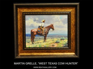 "Martin Grelle, ""West Texas Cow Hunter"" (West Texas Cow Hunter)"