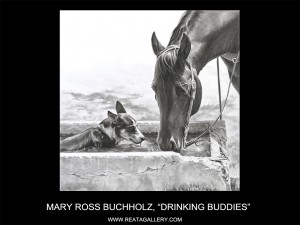 "Mary Ross Buchholz, ""Drinking Buddies"""