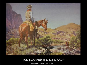 """Tom Lea, """"And There He Was"""" (And There He Was)"""