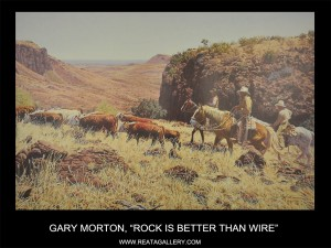 """Gary Morton, """"Rock is Better than Wire"""" (Rock is Better than Wire)"""