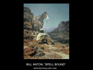 "Bill Anton, ""Spell Bound"""