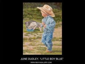 "June Dudley, ""Little Boy Blue"""