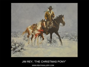 "Jim Rey, ""The Christmas Pony"""