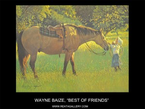 "Wayne Baize, ""Best of Friends"""