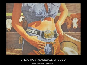 "Steve Harris, ""Buckle Up Boys"""