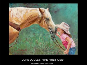 "June Dudley, ""The First Kiss"""