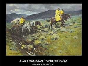 "James Reynolds, ""A Helpin' Hand"""