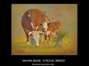 "Wayne Baize, ""A Royal Breed"""