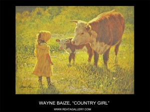 "Wayne Baize, ""Country Girl"""