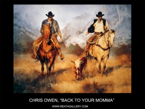 "Chris Owen, ""Back to Your Momma"""