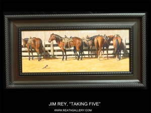 "Jim Rey, ""Taking Five"""