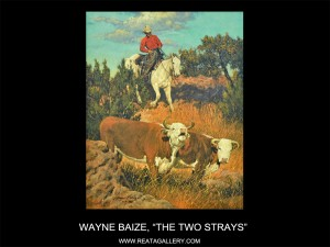 "Wayne Baize, ""The Two Strays"""