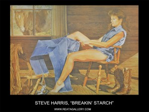 "Steve Harris, ""Breakin' Starch"""
