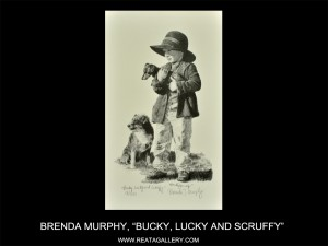 "Brenda Murphy, ""Bucky, Lucky and Scruffy"""