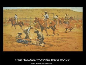 "Fred Fellows, ""Working the 06 Range"""