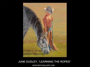 "June Dudley, ""Learning the Ropes"""