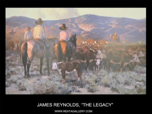 "James Reynolds, ""The Legacy"""