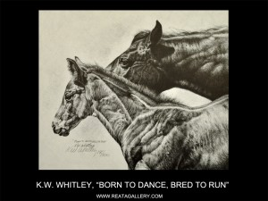 "KW Whitley, ""Born to Dance, Bred to Run"""