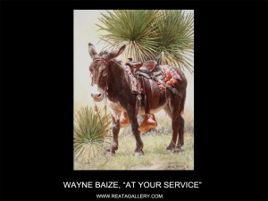 "Wayne Baize, ""At Your Service"""