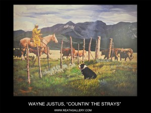 "Wayne Justus, ""Countin' the Strays"""