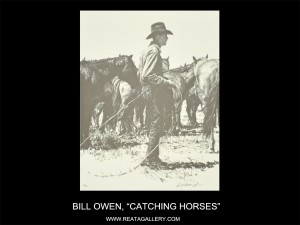 "Bill Owen, ""Catching Horses"""