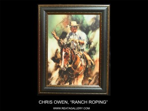 "Chris Owen, ""Ranch Roping"""