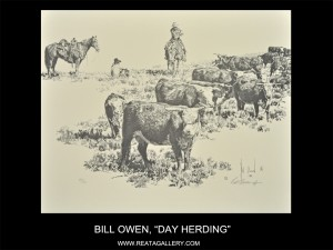 "Bill Owen, ""Day Herding"""