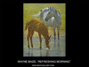 "Wayne Baize, ""Refreshing Morning"""
