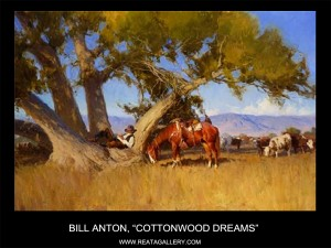 "Bill Anton, ""Cottonwood Dreams"""