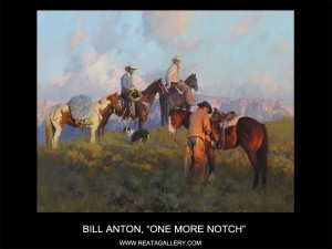 "Bill Anton, ""One More Notch"""
