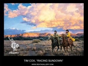 "Tim Cox, ""Racing Sundown"""